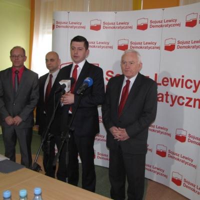 09.02.2013 r. Leszek Miller na Podkarpaciu cz.1